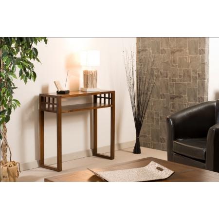Console rectangulaire 1 étagère meubles macabane meubles et objets de décoration