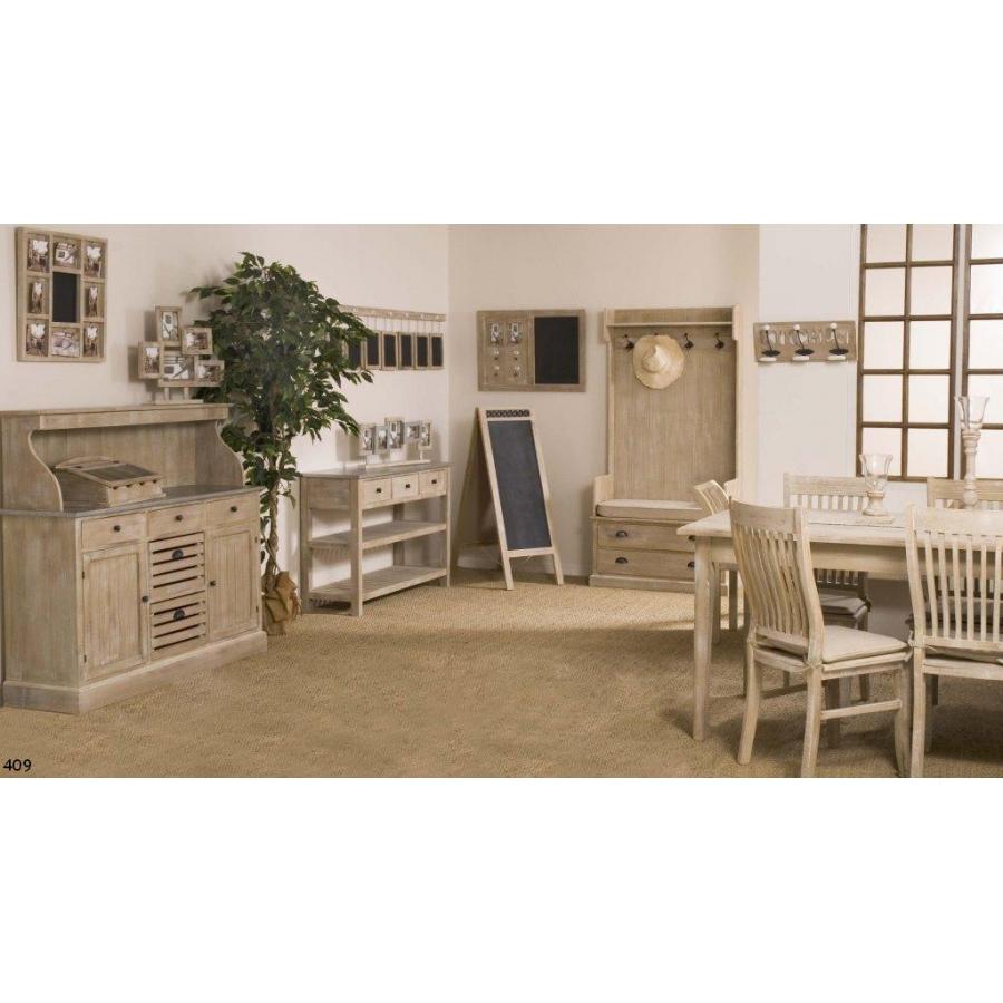 meuble 2 portes 5 tiroirs paulownia meubles macabane. Black Bedroom Furniture Sets. Home Design Ideas