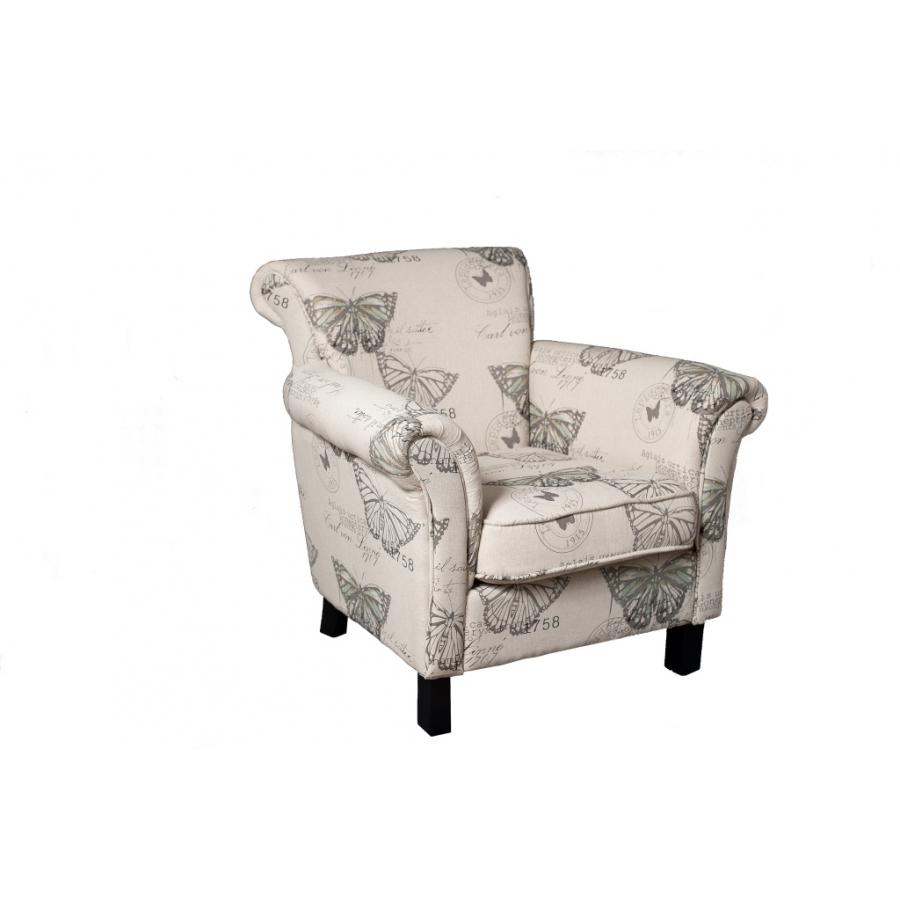 fauteuil tissu papillon meubles macabane meubles et objets de d coration. Black Bedroom Furniture Sets. Home Design Ideas
