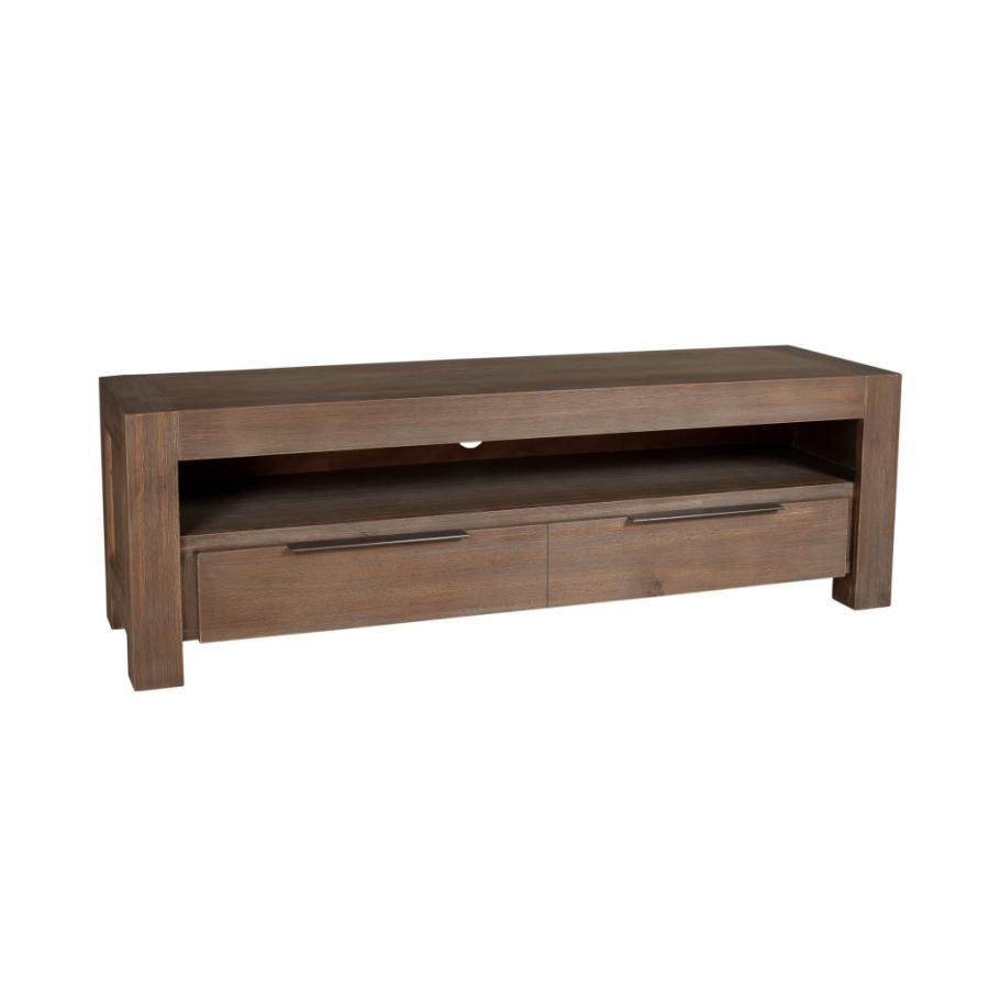 Meuble tv 1 tiroir acacia meubles macabane meubles et for Meuble tiroir