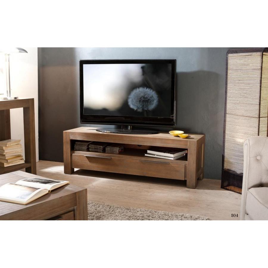 Meuble tv 1 tiroir acacia meubles macabane meubles et for Meuble tv a tiroir