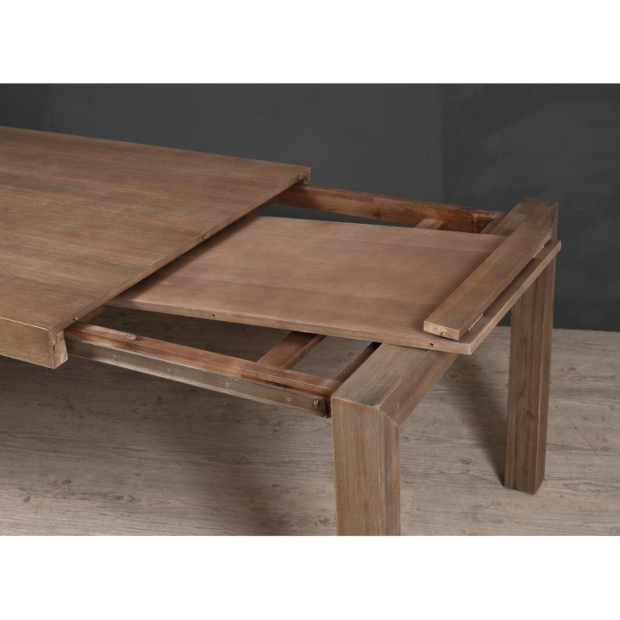 table manger extensible 180 230 x 100 cm acacia meubles macabane meubles et objets de. Black Bedroom Furniture Sets. Home Design Ideas