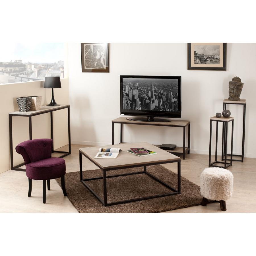 Tabouret rond avec dossier tissu couleur prune meubles macabane meubles et objets de d coration for Copie de meubles design
