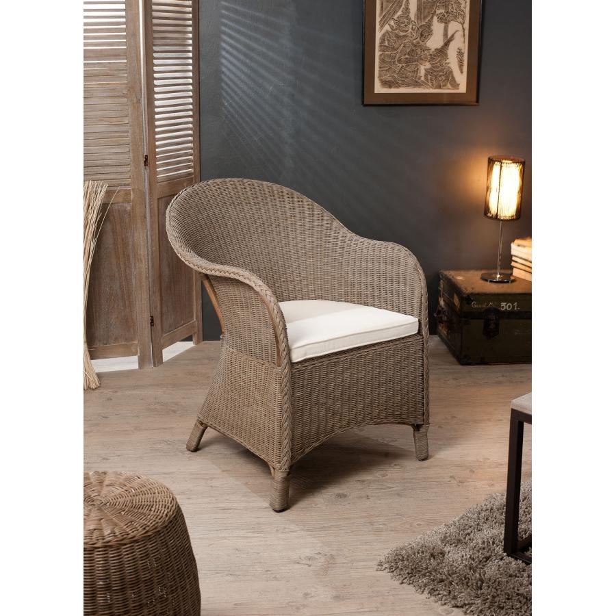 Fauteuil hampton rotin meubles macabane meubles et for Meuble rotin