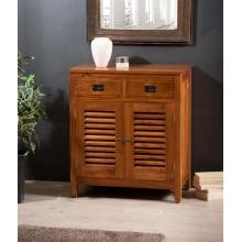 Meuble tv 3 tiroirs gm teck meubles macabane meubles for Bahut japonais