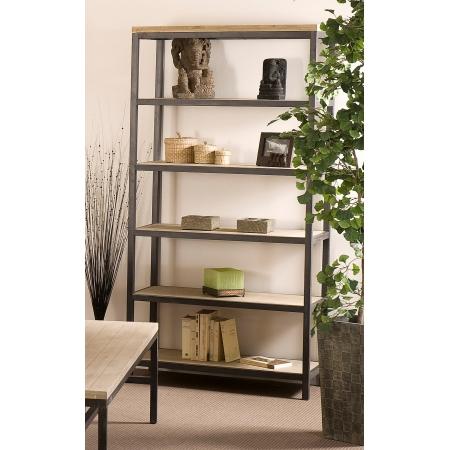 Etag re 5 niveaux paulownia meubles macabane meubles for Macabane meuble