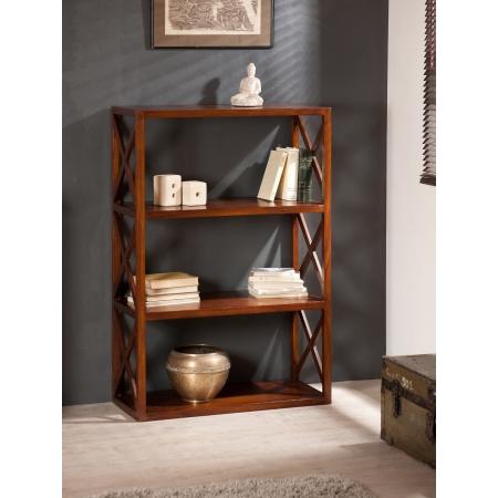 Etag re croisillons 3 niveaux meubles macabane meubles for Meuble 3 etageres