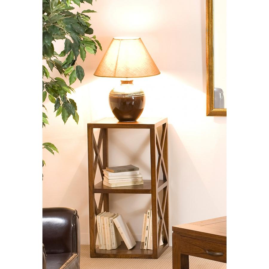 etag re 40 cm 2 cases croisillons meubles macabane meubles et objets de d coration. Black Bedroom Furniture Sets. Home Design Ideas