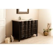 commode 3 tiroirs couleur bleu ardoise manguier meubles macabane meubles et objets de d coration. Black Bedroom Furniture Sets. Home Design Ideas