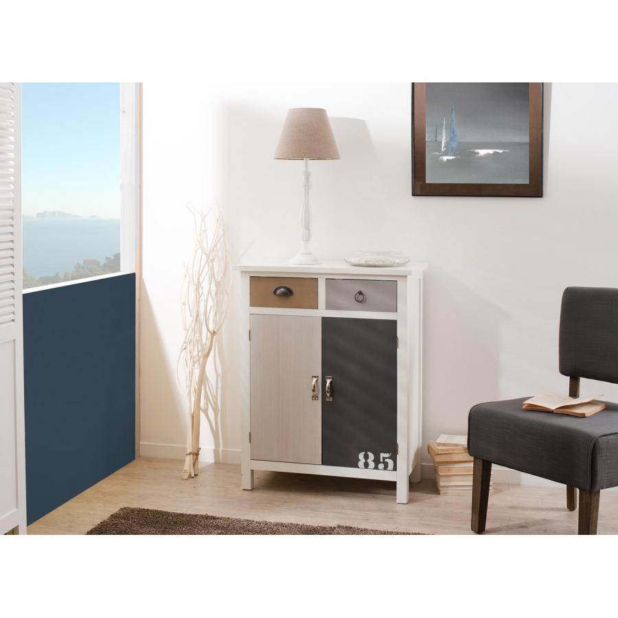 meuble 2 tiroirs 2 portes meubles macabane meubles et