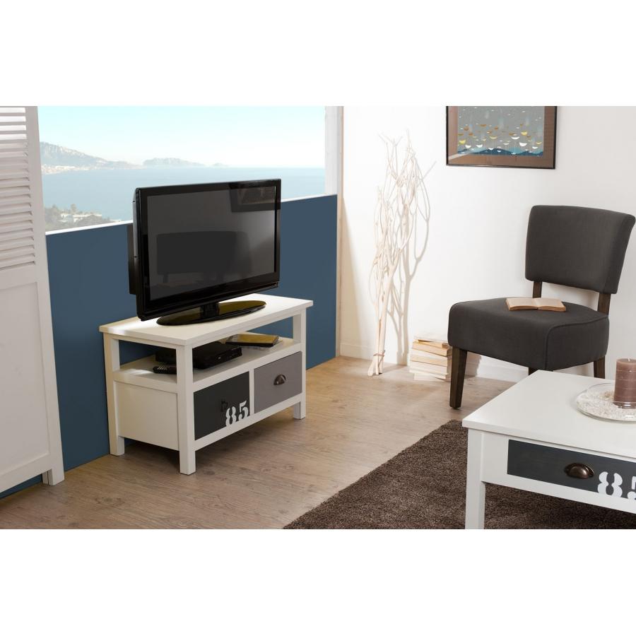 meuble tv 2 tiroirs meubles macabane meubles et objets de d coration. Black Bedroom Furniture Sets. Home Design Ideas