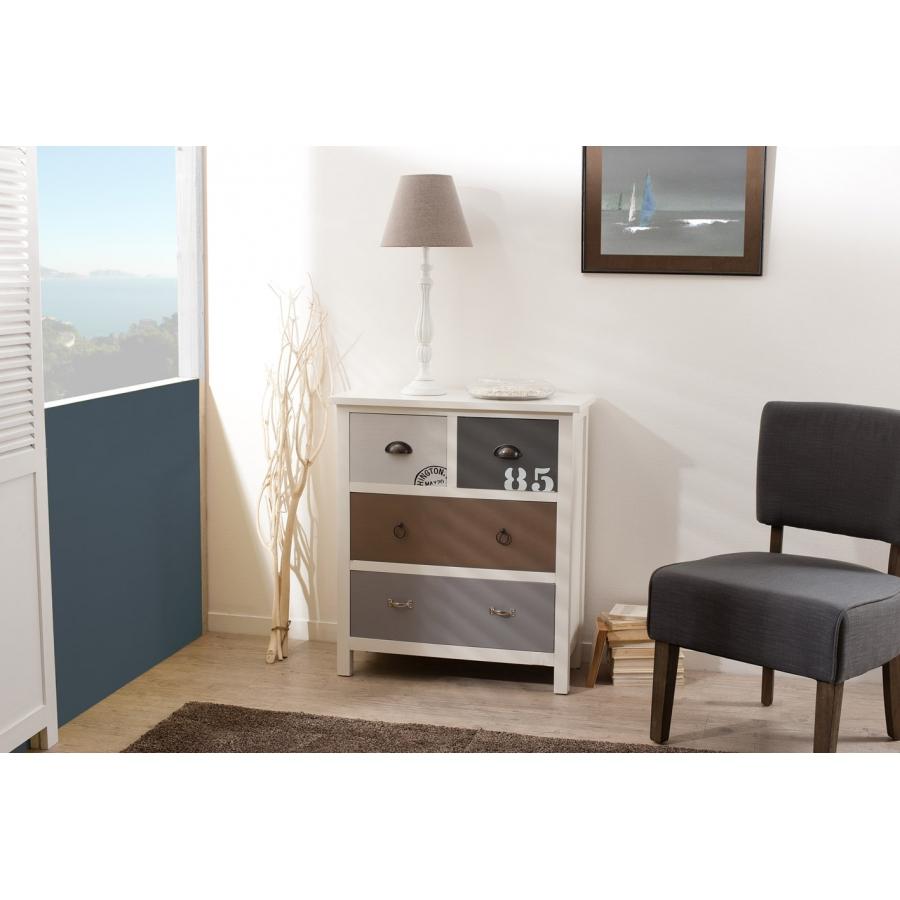 meuble 4 tiroirs meubles macabane meubles et objets de d coration. Black Bedroom Furniture Sets. Home Design Ideas