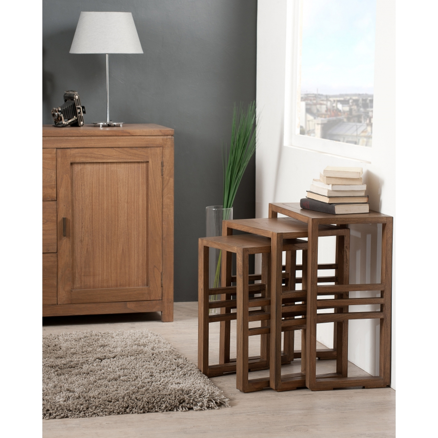 table gigogne meubles macabane meubles et objets de. Black Bedroom Furniture Sets. Home Design Ideas