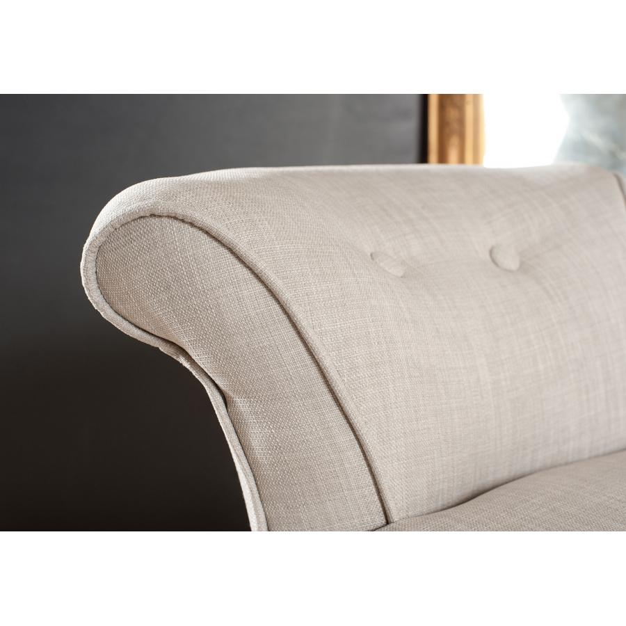 tabouret rond avec dossier tissu couleur lin meubles macabane meubles et objets de d coration. Black Bedroom Furniture Sets. Home Design Ideas