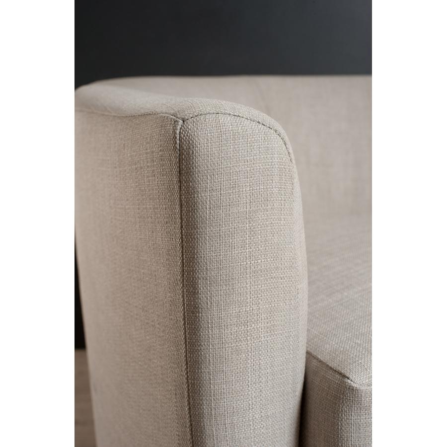 fauteuil cabriolet tissu couleur lin meubles macabane meubles et objets de d coration. Black Bedroom Furniture Sets. Home Design Ideas