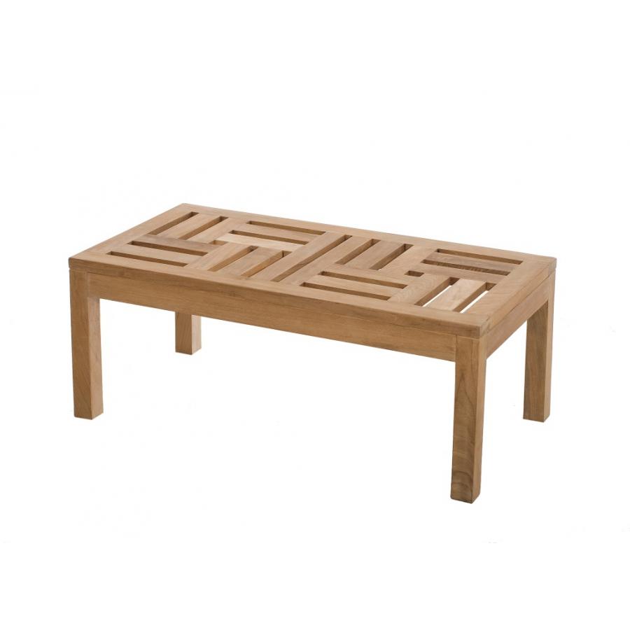 table basse 100 x 50 cm teck meubles macabane meubles et objets de d coration. Black Bedroom Furniture Sets. Home Design Ideas