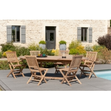 Salon de jardin - Meubles Macabane - meubles et objets de décoration