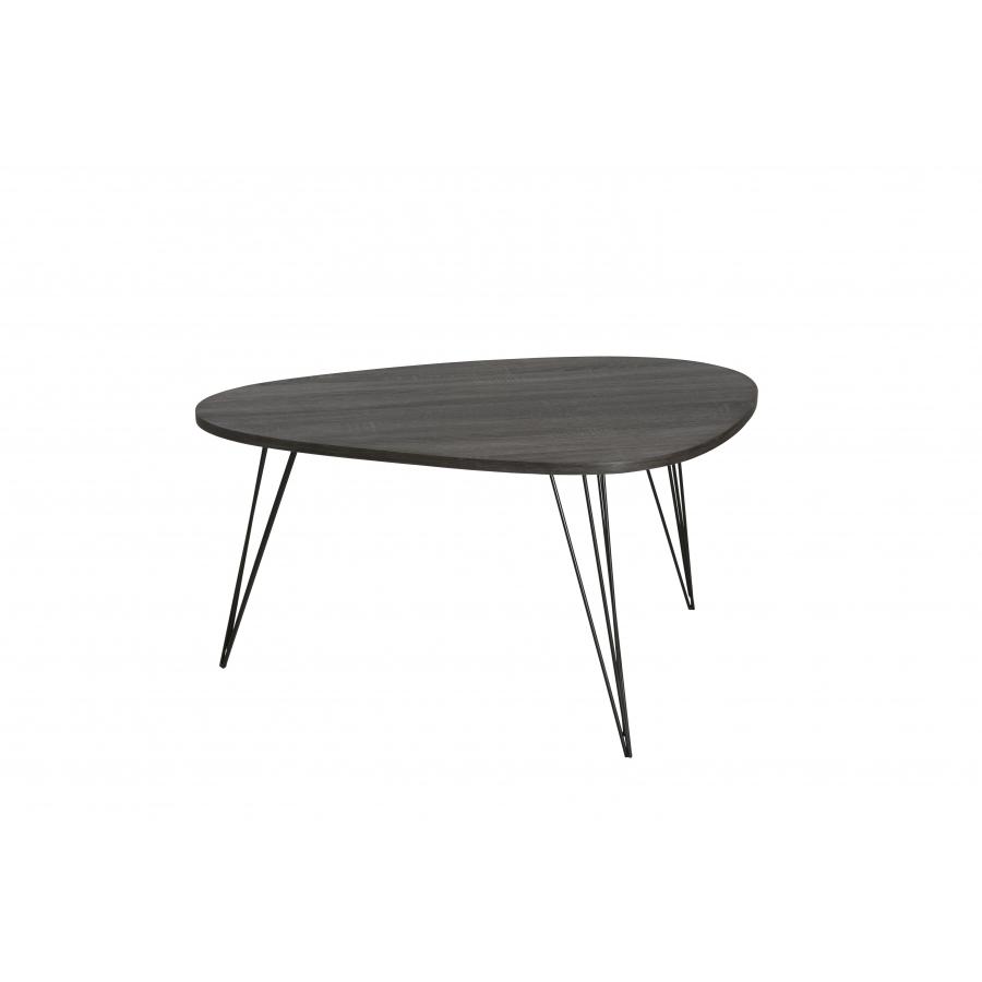 Table Basse Ovoide Pieds M Tal Scandi Meubles Macabane Meubles Et Objets De D Coration