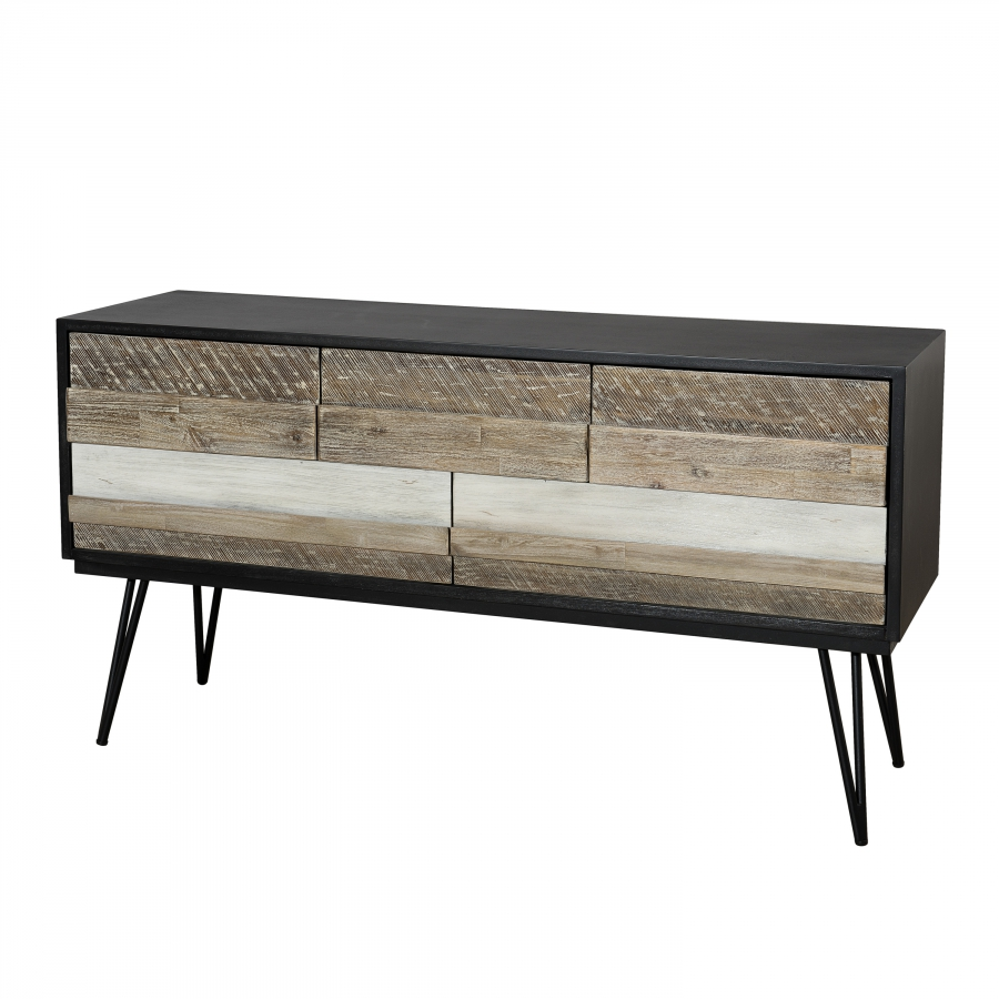 enfilade 5 tiroirs meubles macabane meubles et objets de d coration. Black Bedroom Furniture Sets. Home Design Ideas