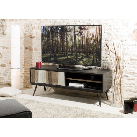 8da96d2f9549d1 amazing tv porte coulissante niches httpmeubles with meuble tv porte  coulissante