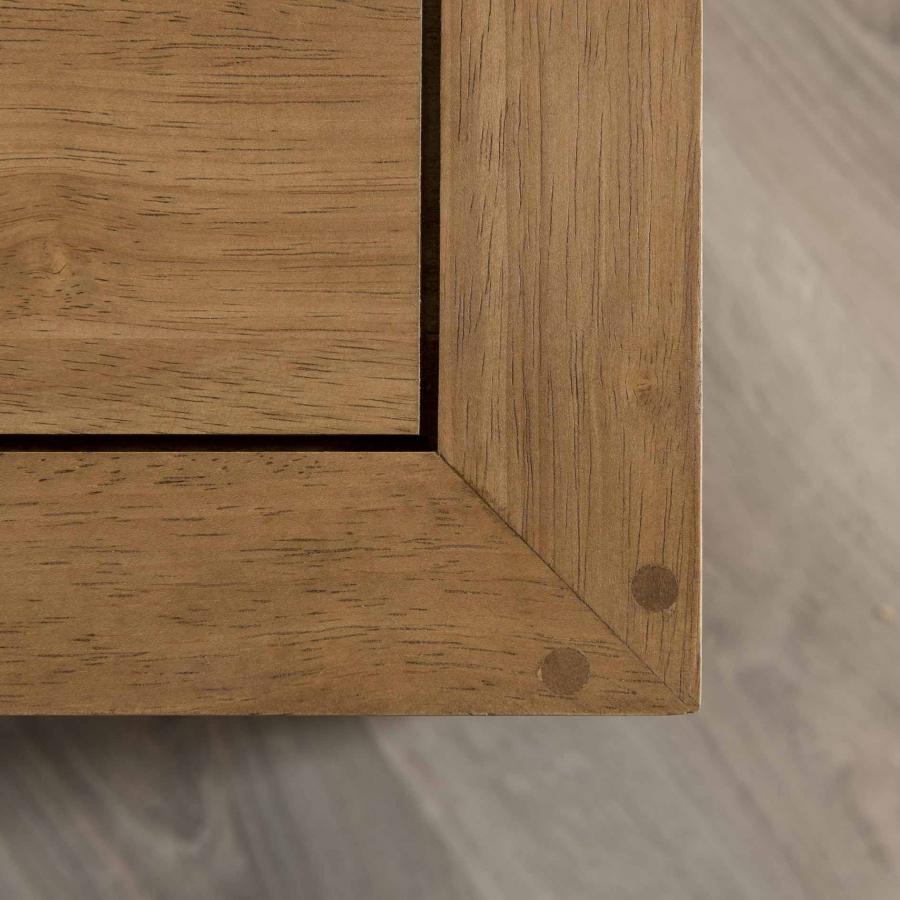 Table basse carr e avec niches de rangement meubles - Table basse carree avec rangement ...