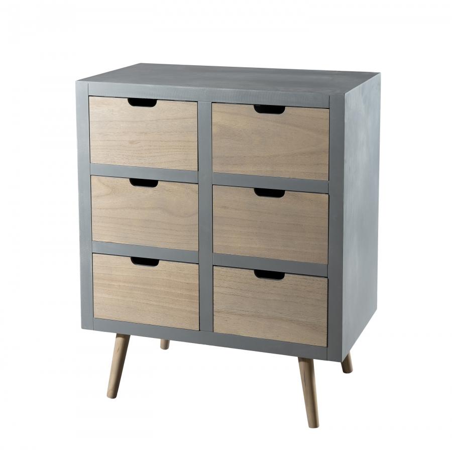commode 6 tiroirs meubles macabane meubles et objets de d coration. Black Bedroom Furniture Sets. Home Design Ideas