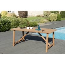 Table SOHO 180 X 90cm couleur naturelle