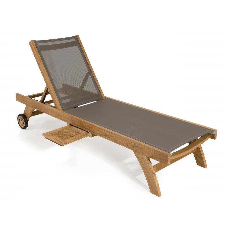 bain de soleil textil ne couleur taupe meubles macabane. Black Bedroom Furniture Sets. Home Design Ideas