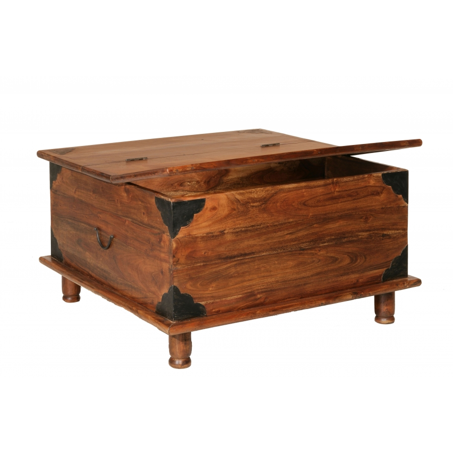 Table basse coffre acacia meubles macabane meubles et for Table coffre