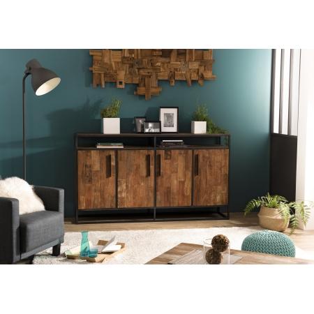 http://www.meubles-macabane.com/4659-thickbox_default/buffet-4-portes-1-etagere-teck-recycle-et-metal.jpg