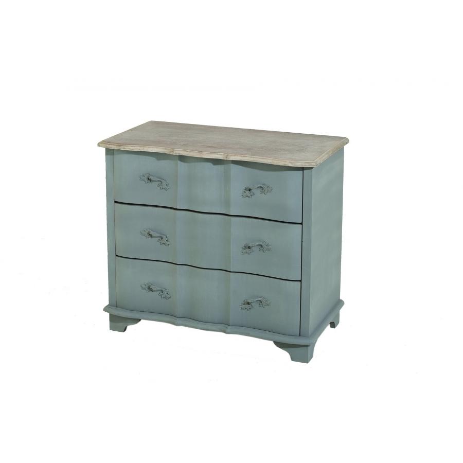 commode 3 tiroirs paulownia meubles macabane meubles. Black Bedroom Furniture Sets. Home Design Ideas