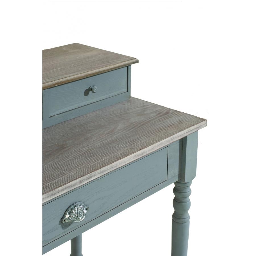 bureau 4 tiroirs paulownia meubles macabane meubles et
