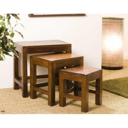 Table gigogne indiana acacia
