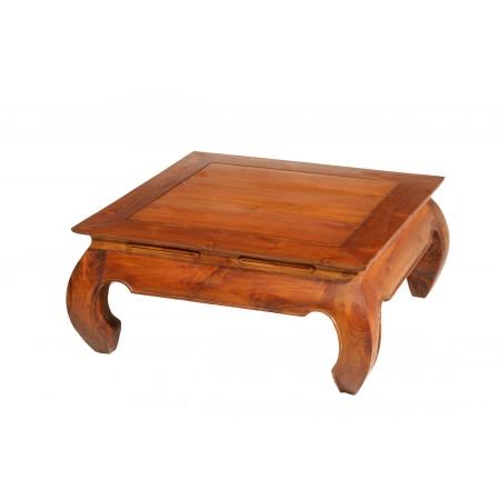 80 Table Teck Opium Basse X 5AL3j4Rq