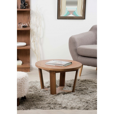 Table basse ronde 65 cm