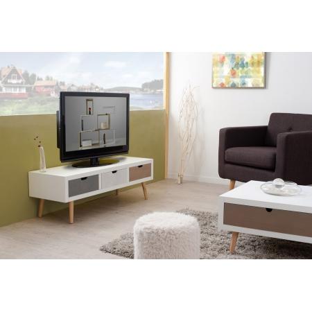 Meuble tv 3 tiroirs