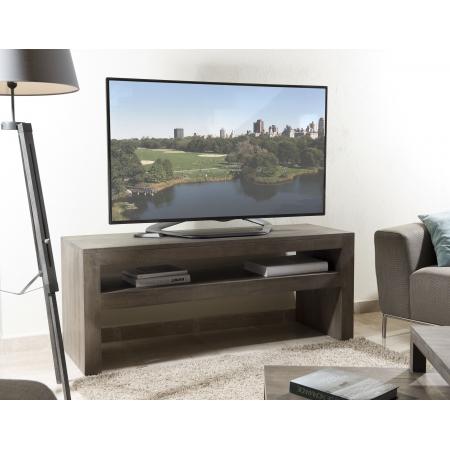Meuble tv bois 1 étagère