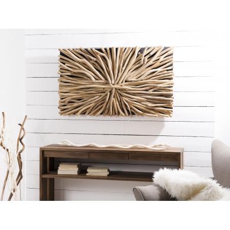 Décoration murale en bois flotté