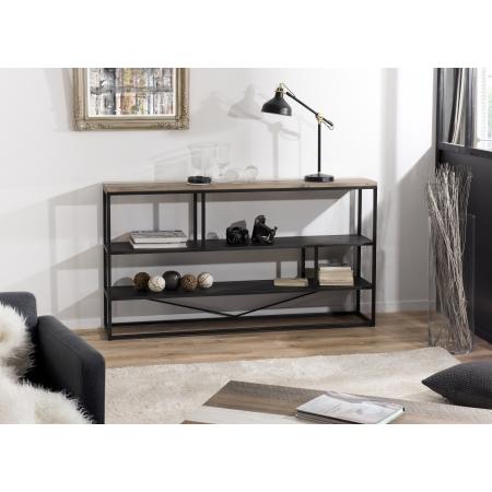 """Etagère bois """"S"""" 160 x 90 cm 3 niveaux"""