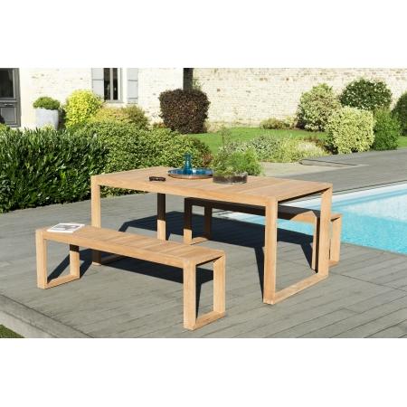 Salon de jardin n°138 comprenant 1 table OSLO...
