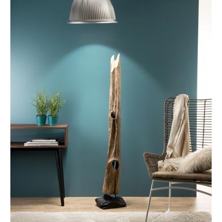 """Objet décoration bois branche naturelle """"L"""""""