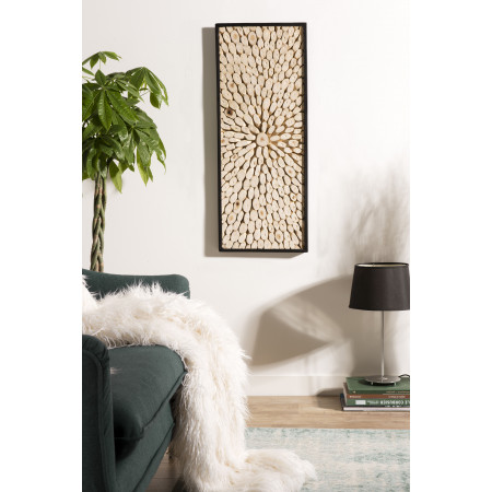 Décoration murale bois  rectangulaire 100x40cm...