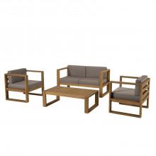 Salon de jardin bois IBIZA