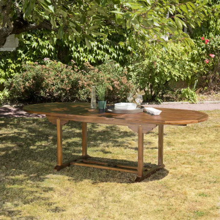 Table de jardin 8/10 personnes - Table ovale...