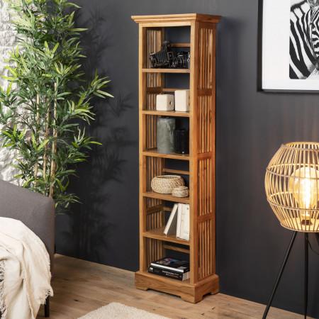 Etagère bibliothèque 45 cm bois